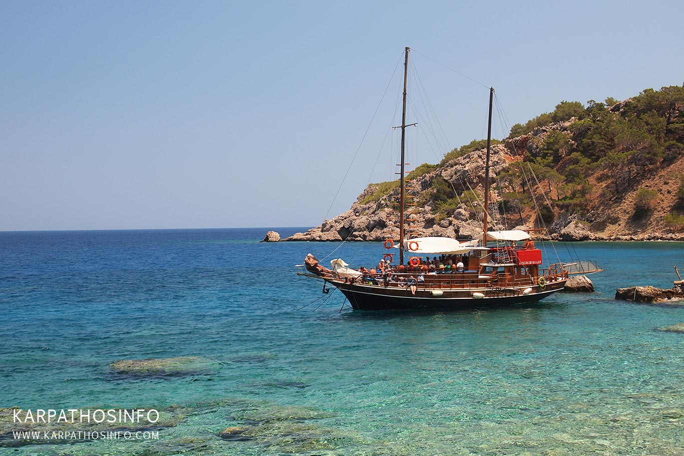 Karpathos by boat
