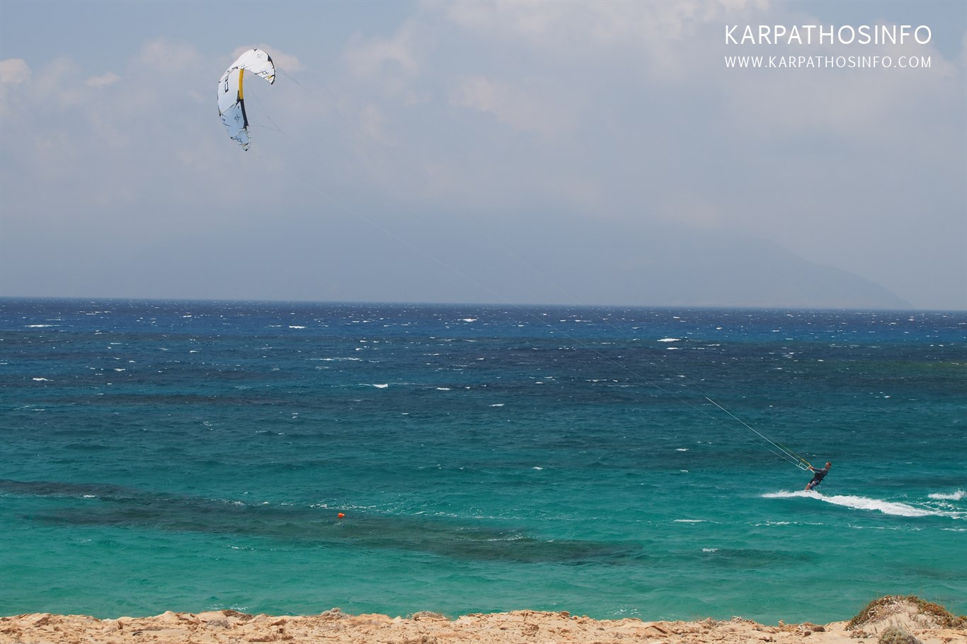 Kitesurf in Karpathos, Greece