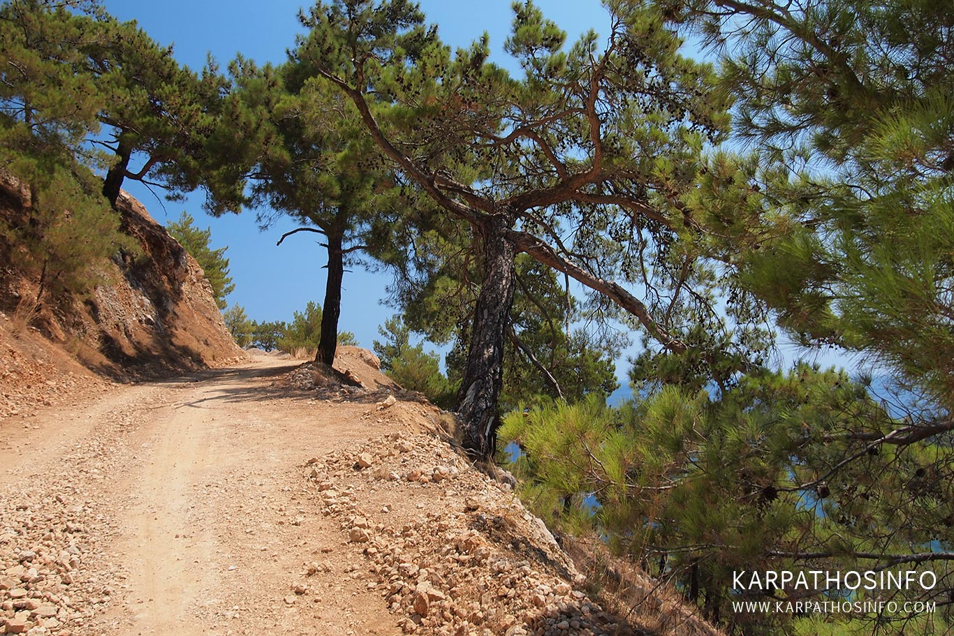 Off road in Karpathos