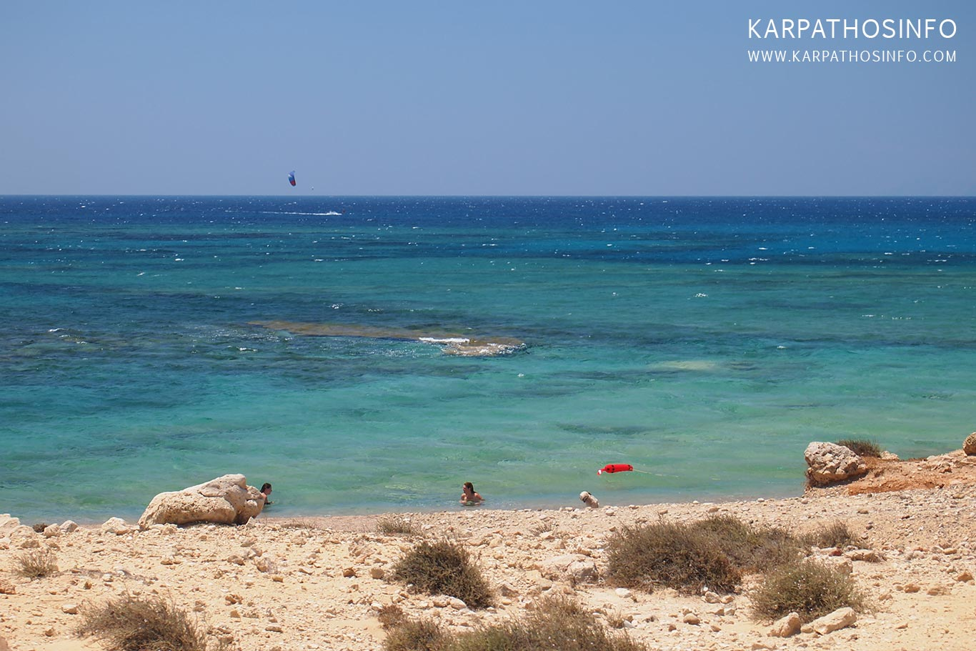 Airport beaches Karpathos island