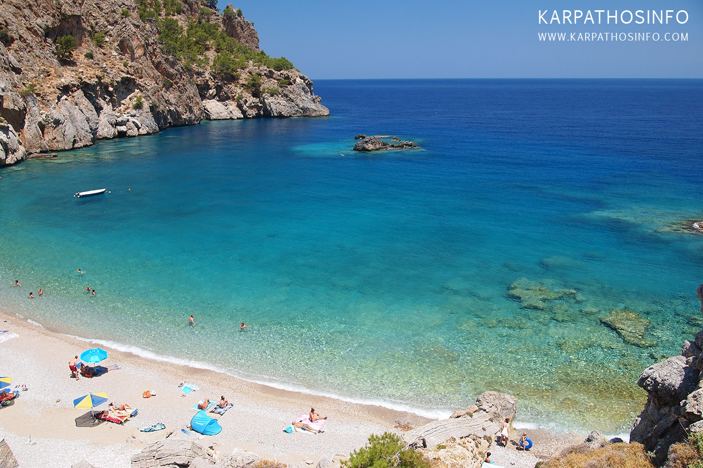 Best beaches in Karpathos - Achata