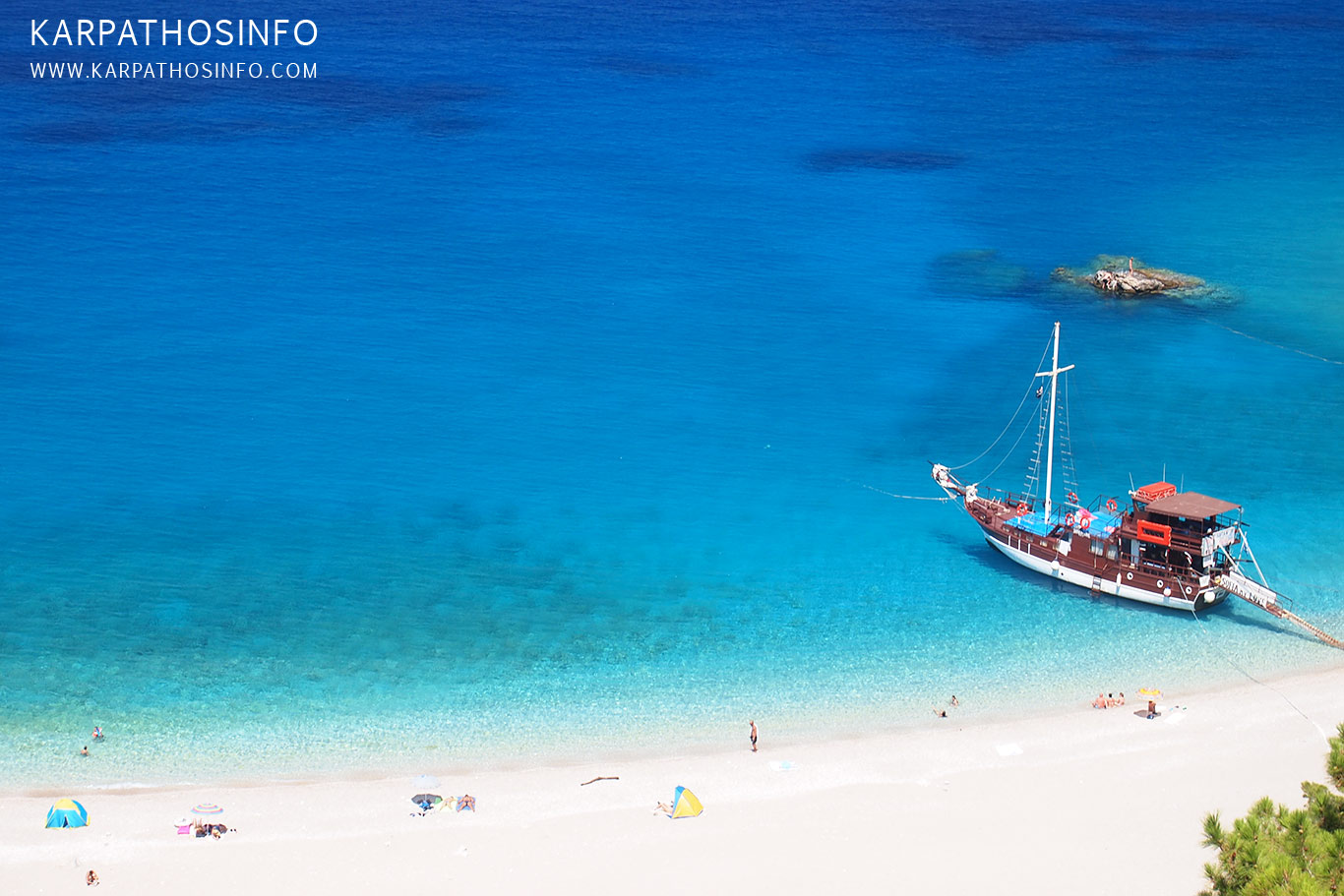 The best beaches in Karpathos island, Greece
