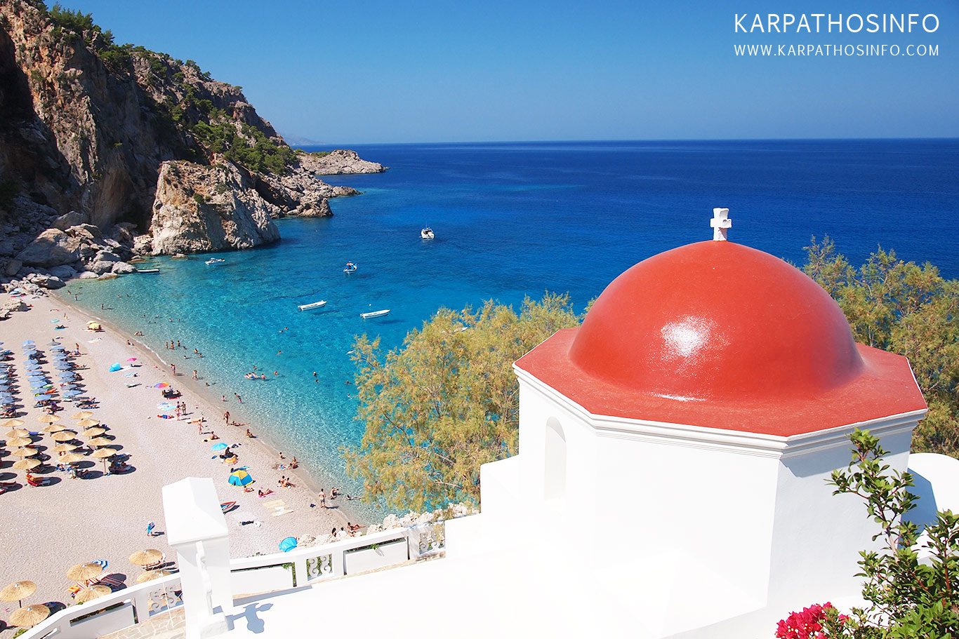 The best beaches in Karpathos - Kyra Panagia