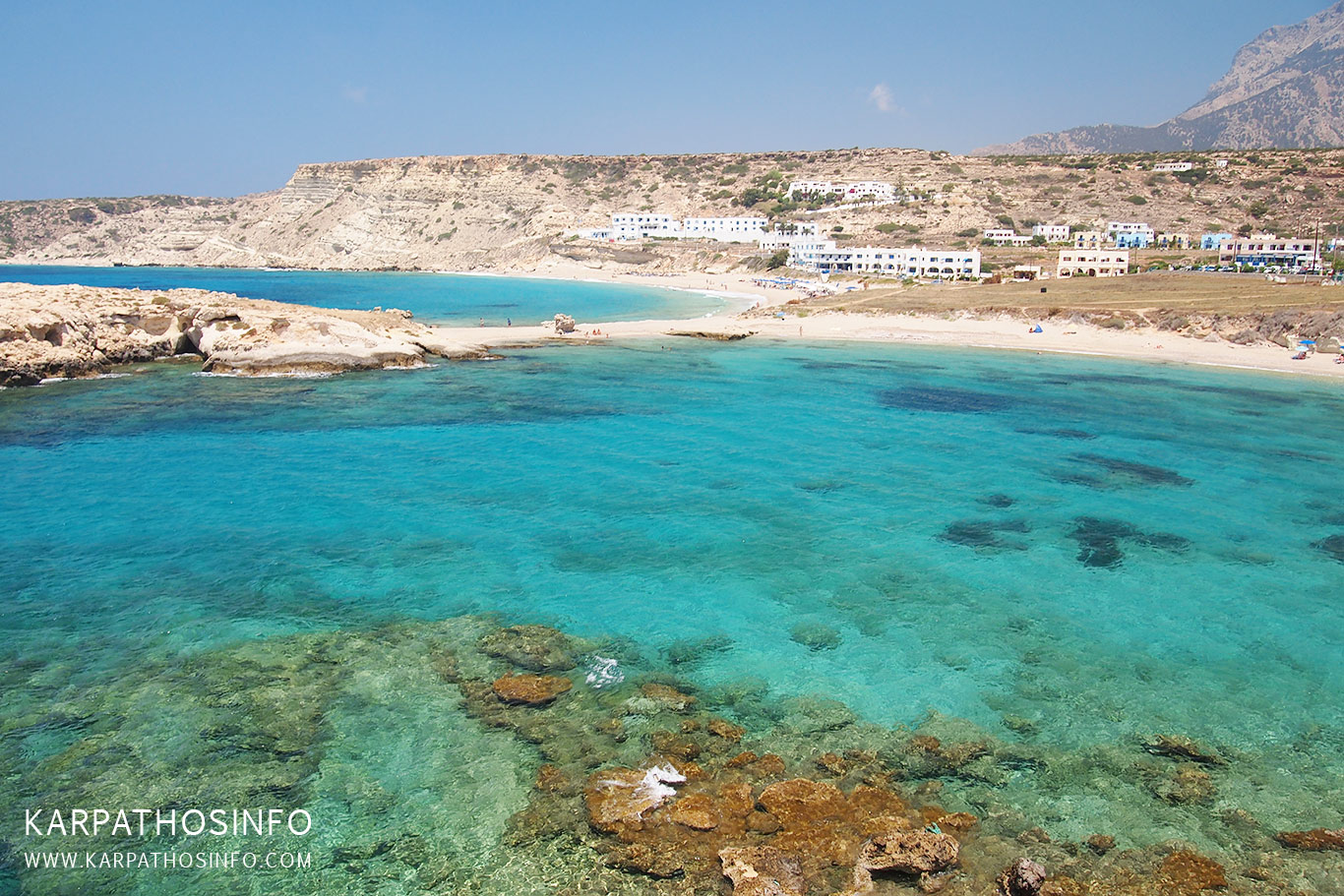 The best beaches in Karpathos - Lefkos