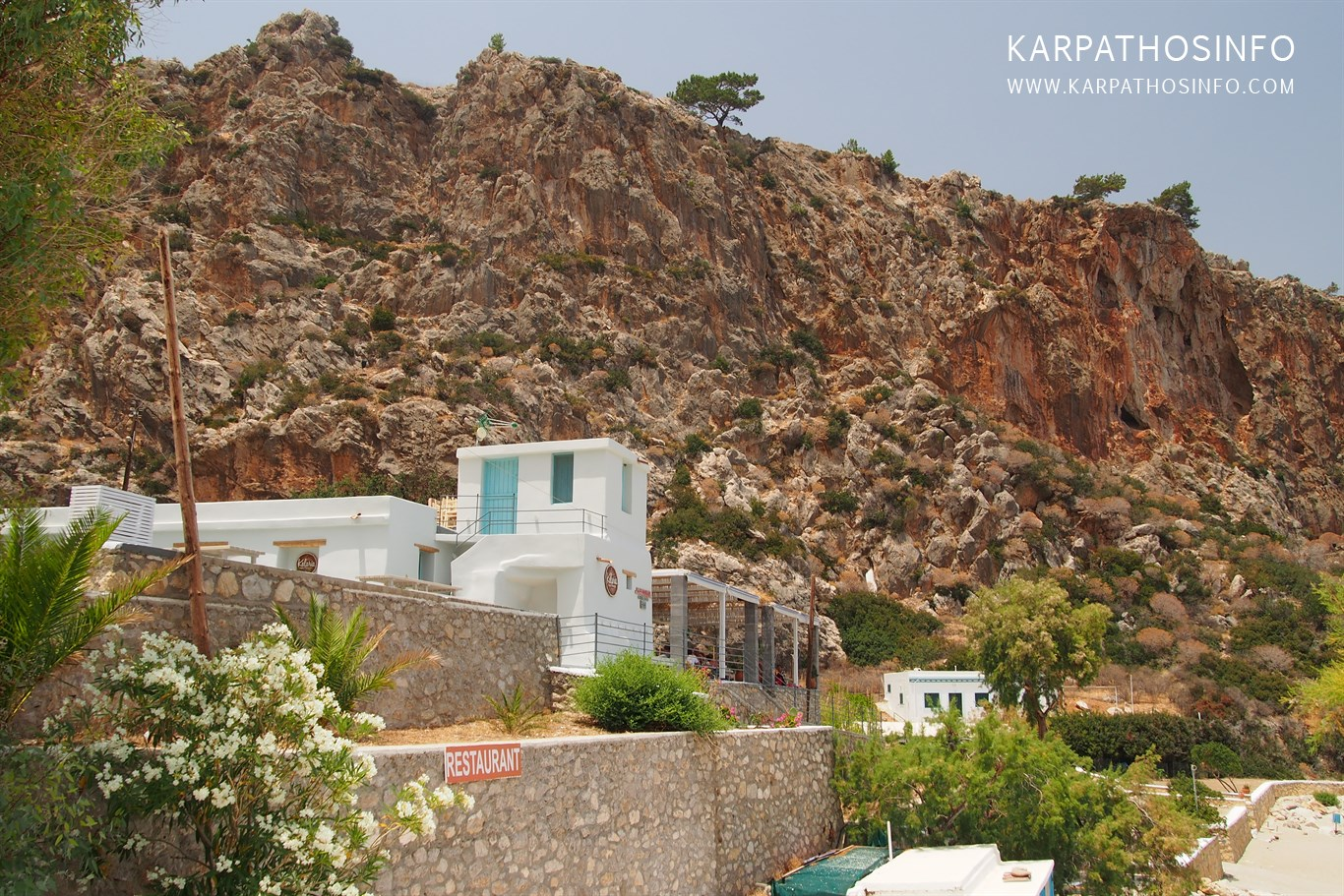 Kyra Panagia cliffs