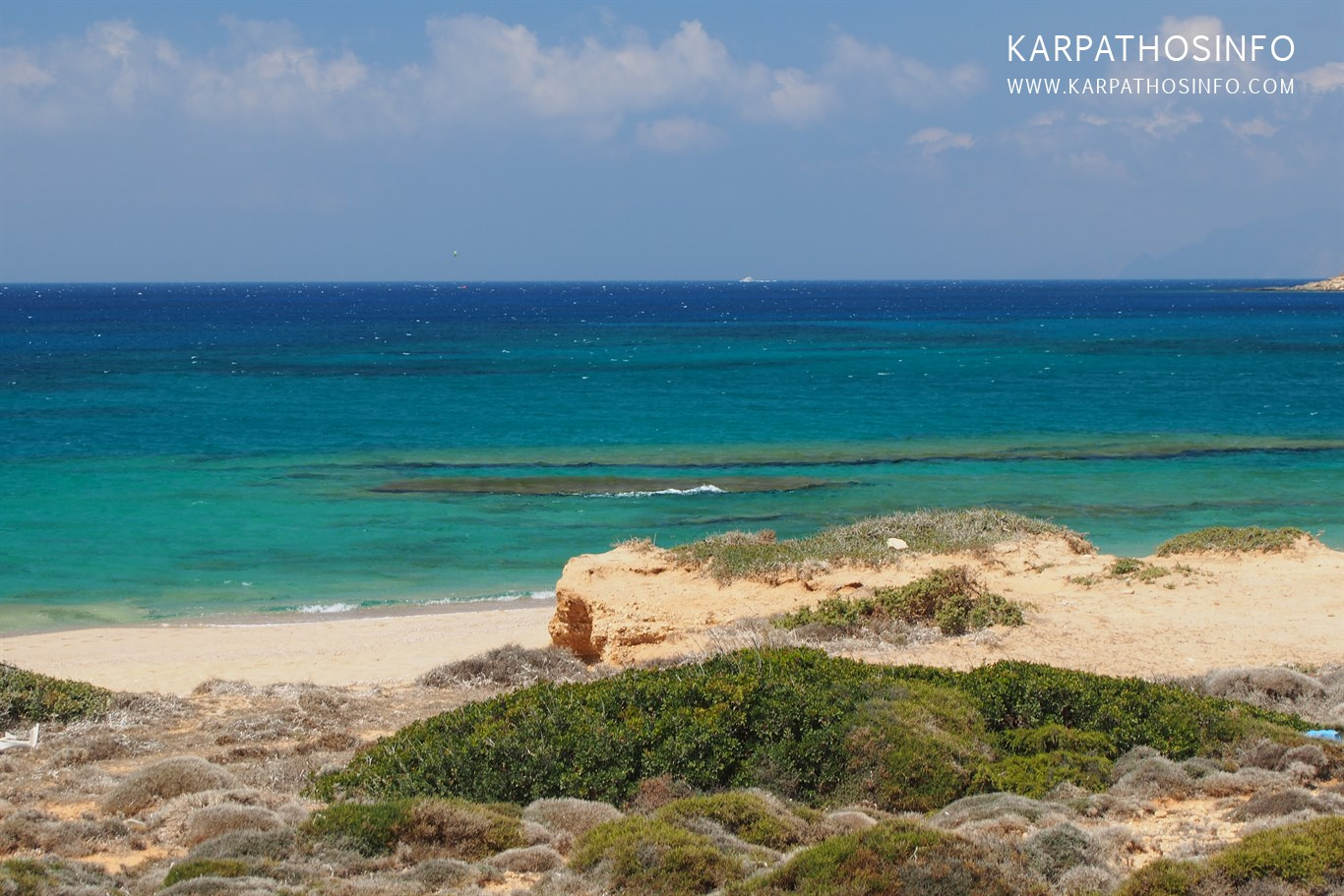 Michaliou beach at Karpathos airport