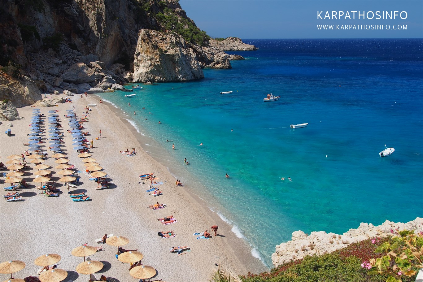 One of the best beaches in Karpathos - Kyra Panagia