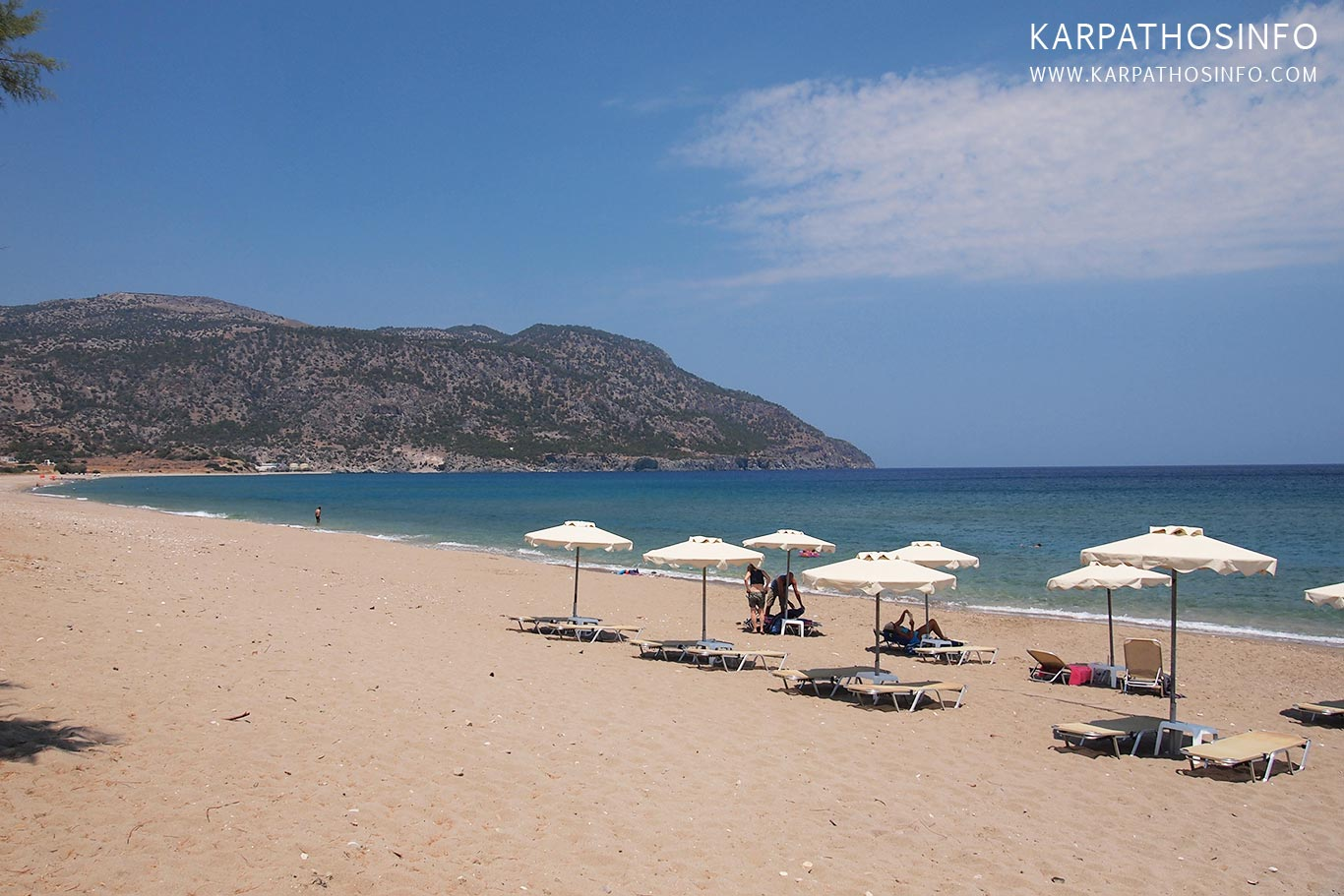 Vrontis beach near Pigadia