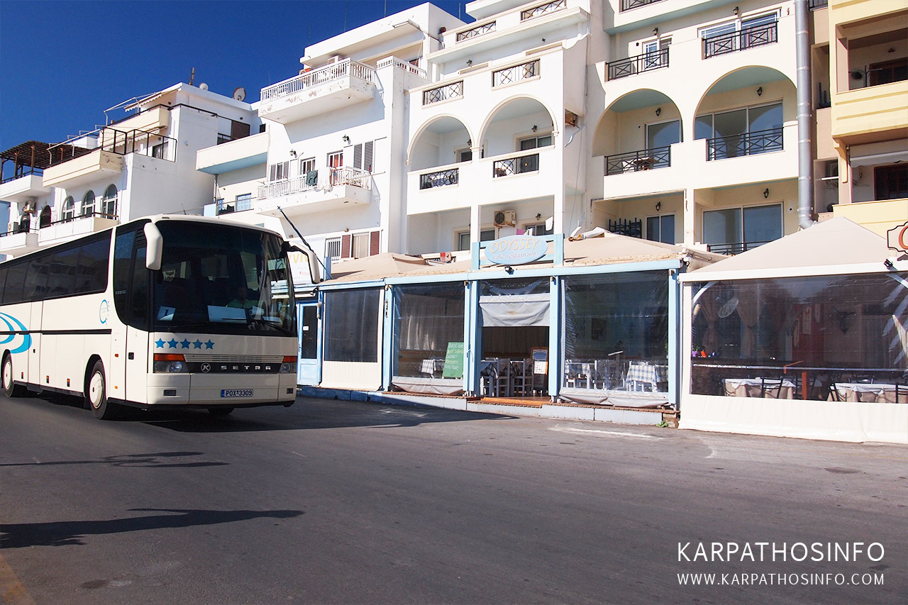 Karpathos local buses
