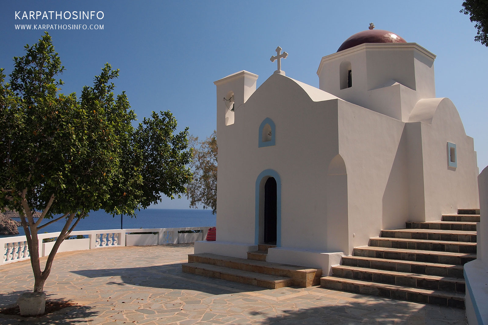 Karpathos church