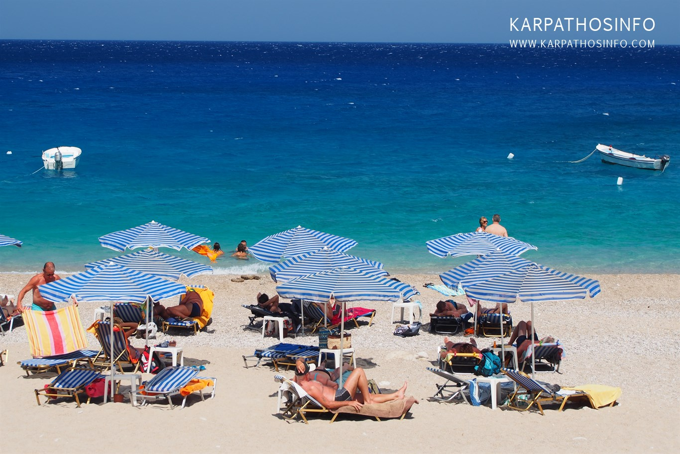 Karpathos in the summer months (June, July, August)