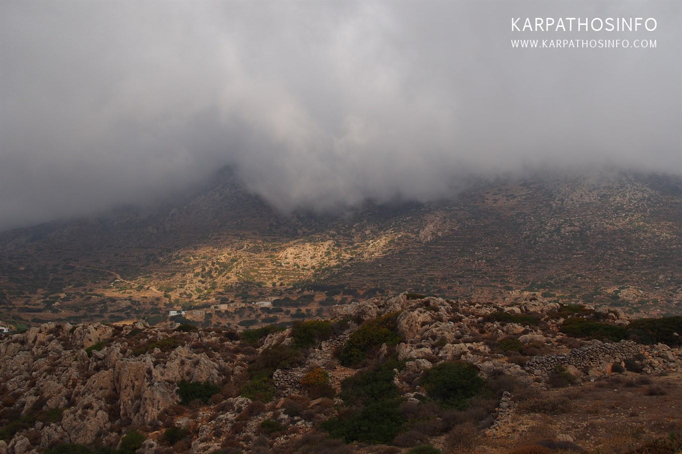 Karpathos winter