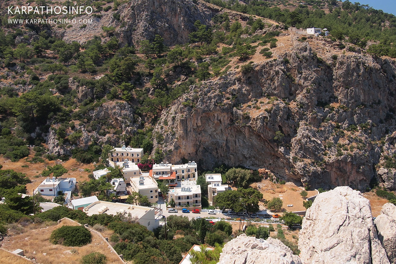 Kyra Panagia village, Karpathos, Greece