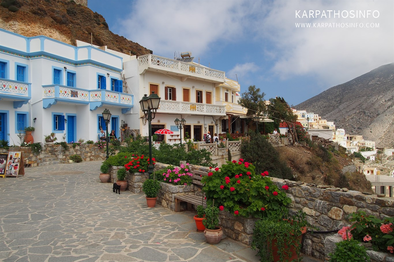 Travel to Olympos Karpathos