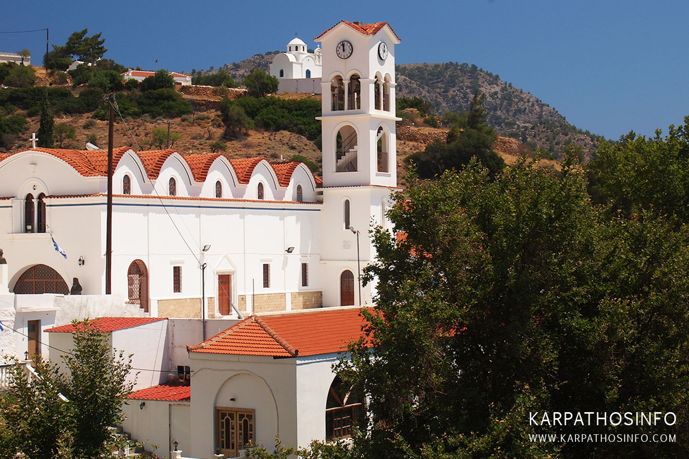 Church in Aperi village, Karpathos