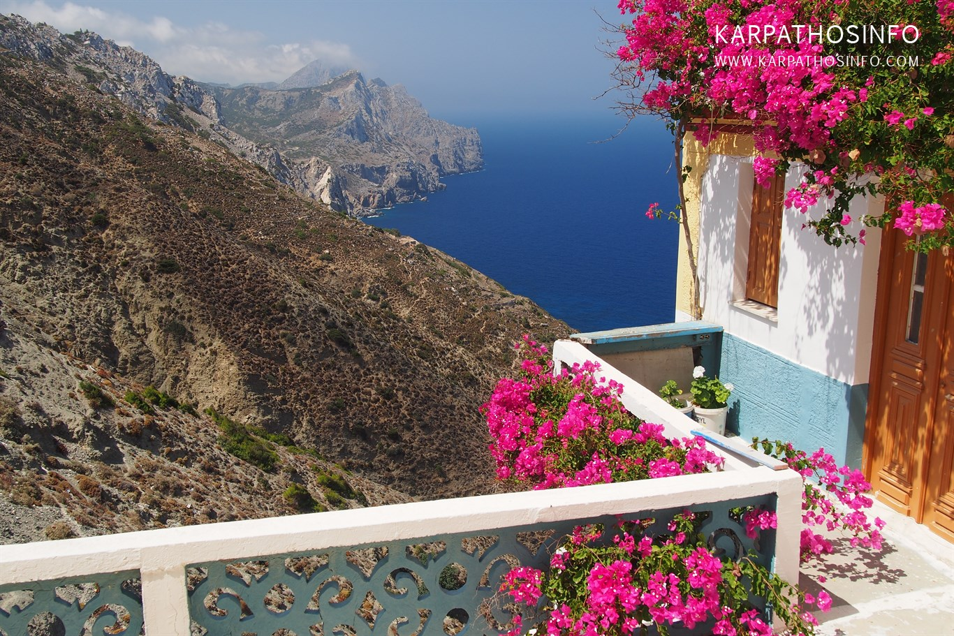 Beautiful views and panoramas in Karpathos island