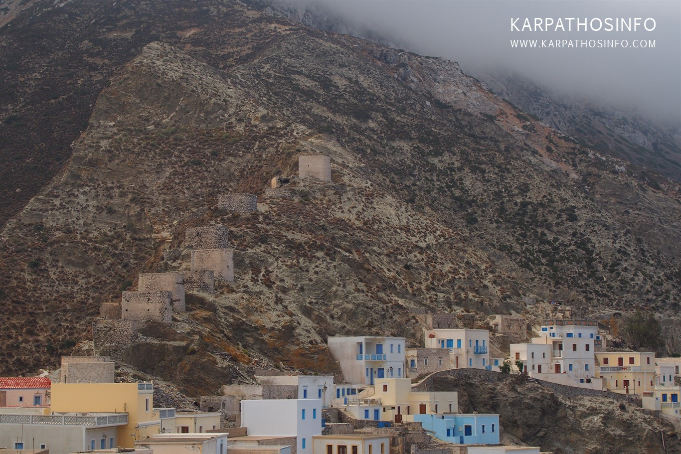 Windmills in Greece, Karpathos